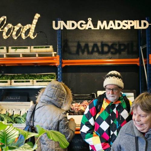 Denemarken opent supermarkt voor voedseloverschotten