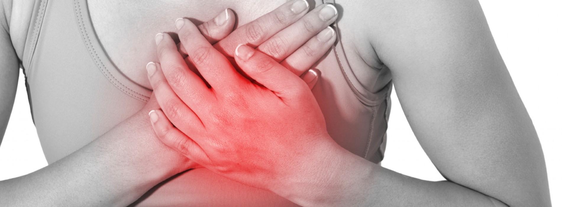 klachten hartinfarct vrouw