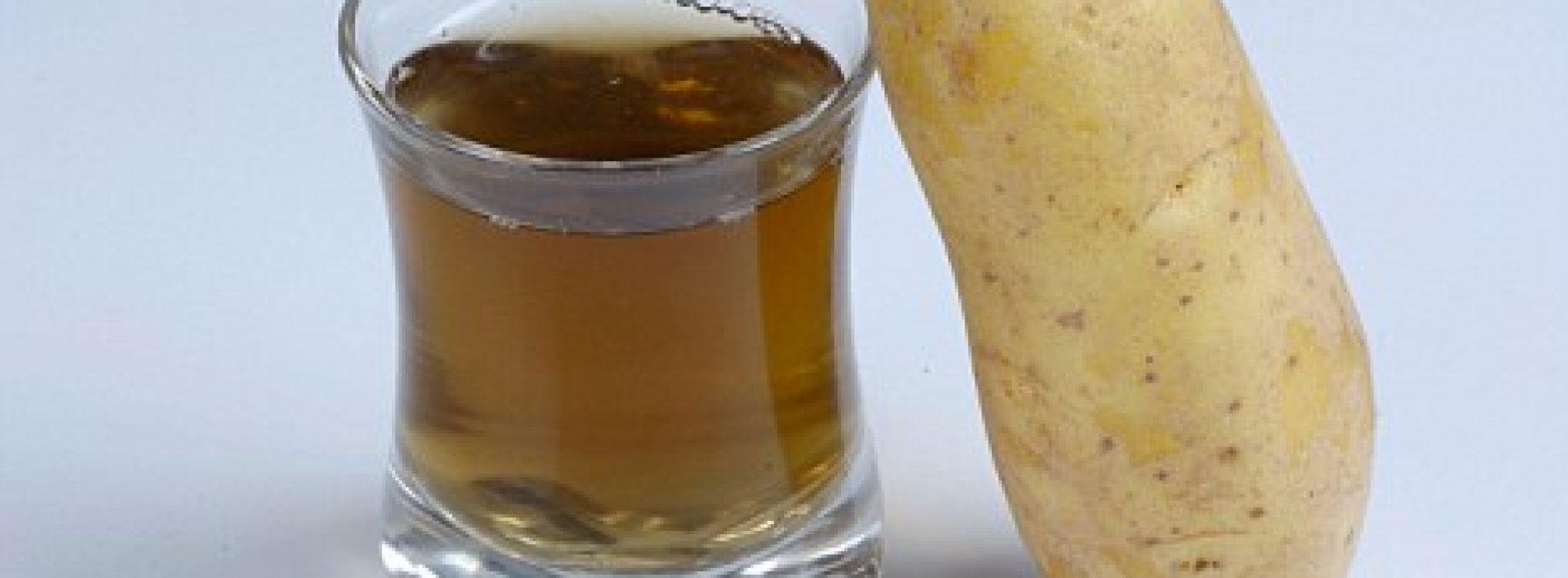 Aardappel Sap: een remedie voor enkele van de meest ernstige ziekten