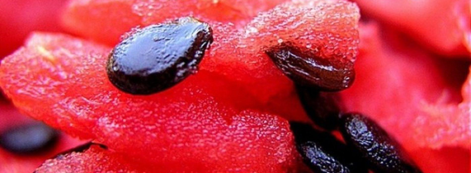 De zaden van een watermeloen verbergen een heleboel geheimen voor onze gezondheid
