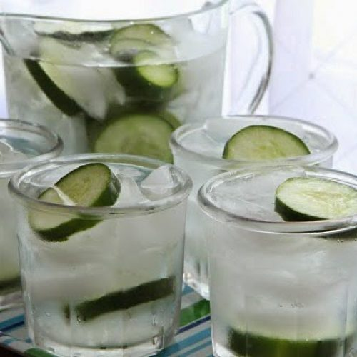 Je weet niet wat je mist als je geen komkommer toevoegt aan je water