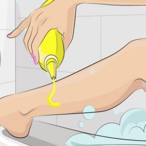ONGELOOFLIJK.. Ze giet mosterd in een heet bad en krijgt vervolgens dit resultaat…