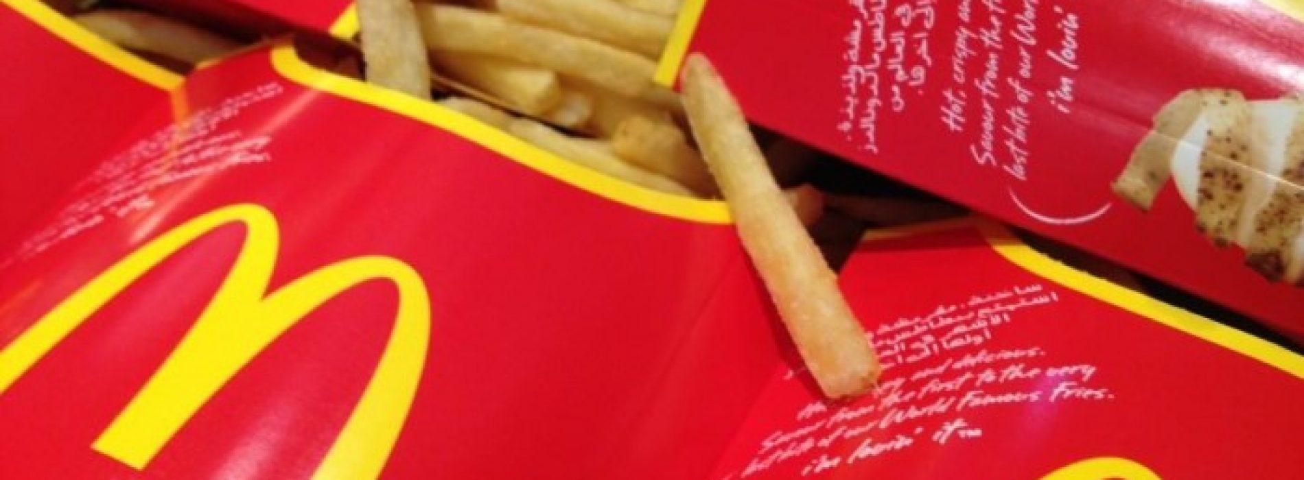 McDonald's doodt in 10 dagen tijd 40 procent van alle darmbacteriën