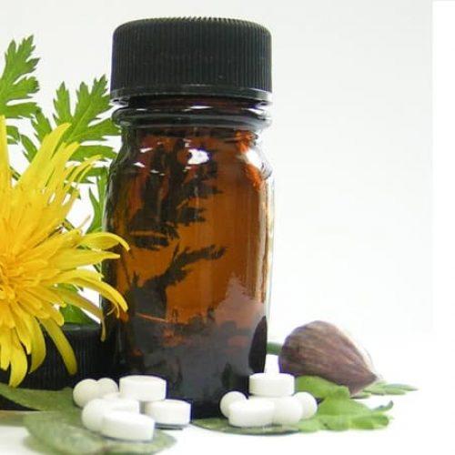 Handen af van de homeopathie
