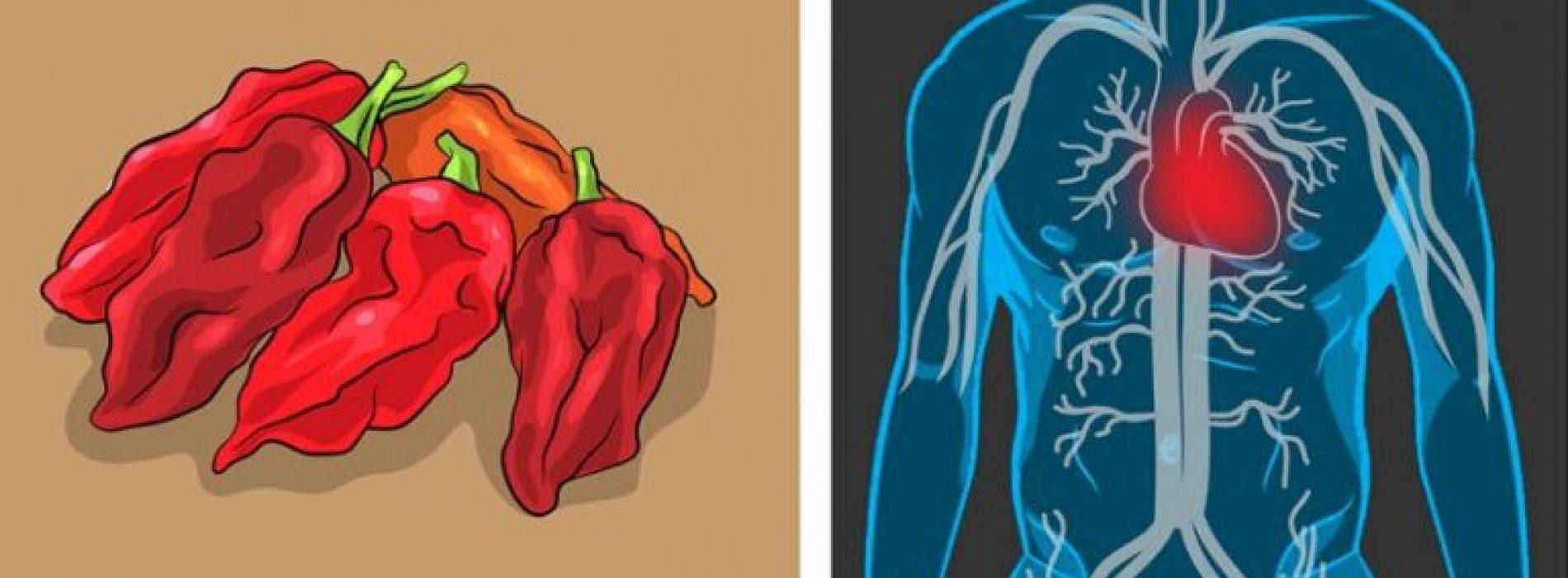 DIT is de reden dat pittig eten zo gezond voor je is!