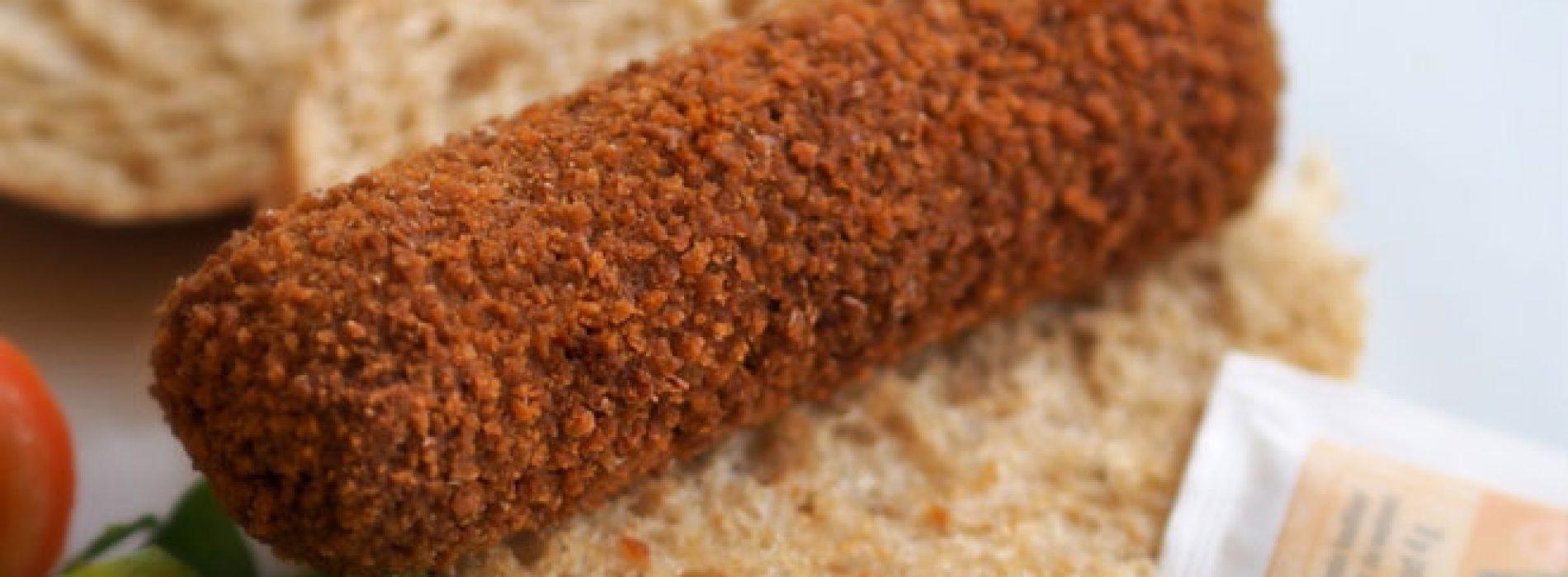 WTF:een broodje kroket is net zo gezond als een broodje kaas!