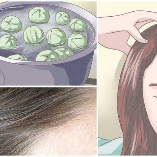 Laat dit wondermiddel 5 minuten in je haar zitten en je zal NOOIT last krijgen van grijze haren!