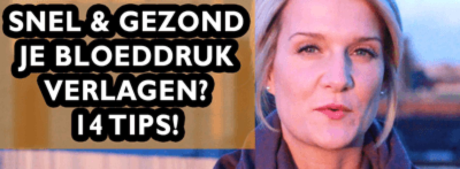Snel & Gezond Je Hoge Bloeddruk Verlagen Zonder Medicijnen? 6 Tips!