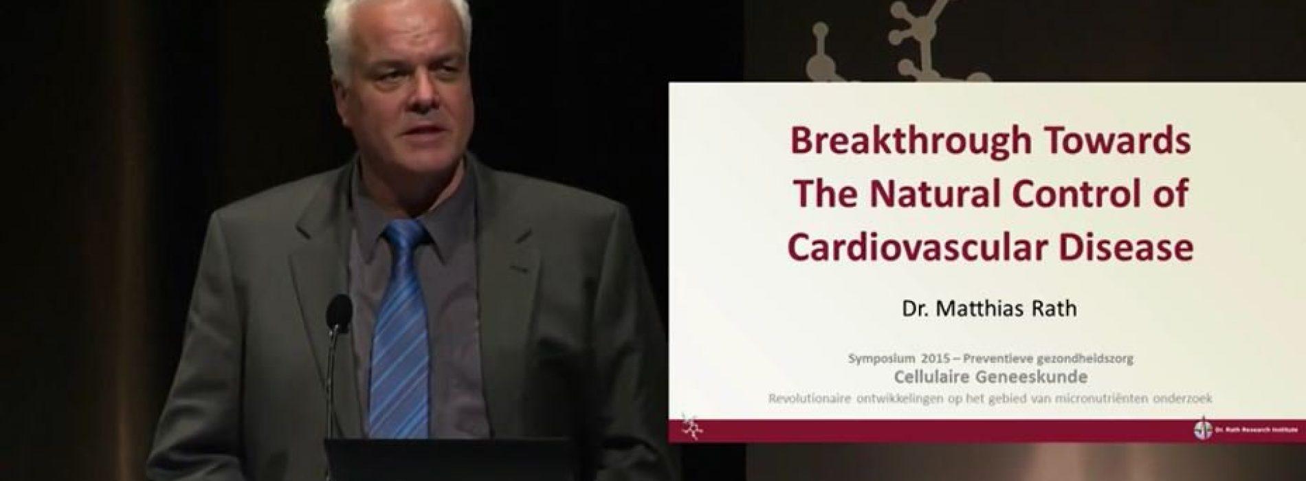Doorbraak in onderzoek naar hart- en vaatziekten. Dit is één van de meest bekeken medische lezingen in Europa