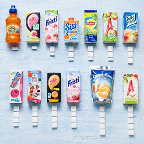 Dit zijn de keiharde cijfers.. Wist jij hoeveel suiker er in het pakje drinken van jouw (klein)kind zit?!