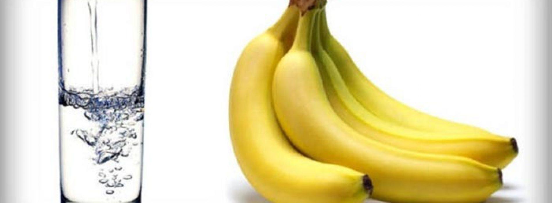 Begin de dag met een banaan en een kopje warm water – Dit is waarom!