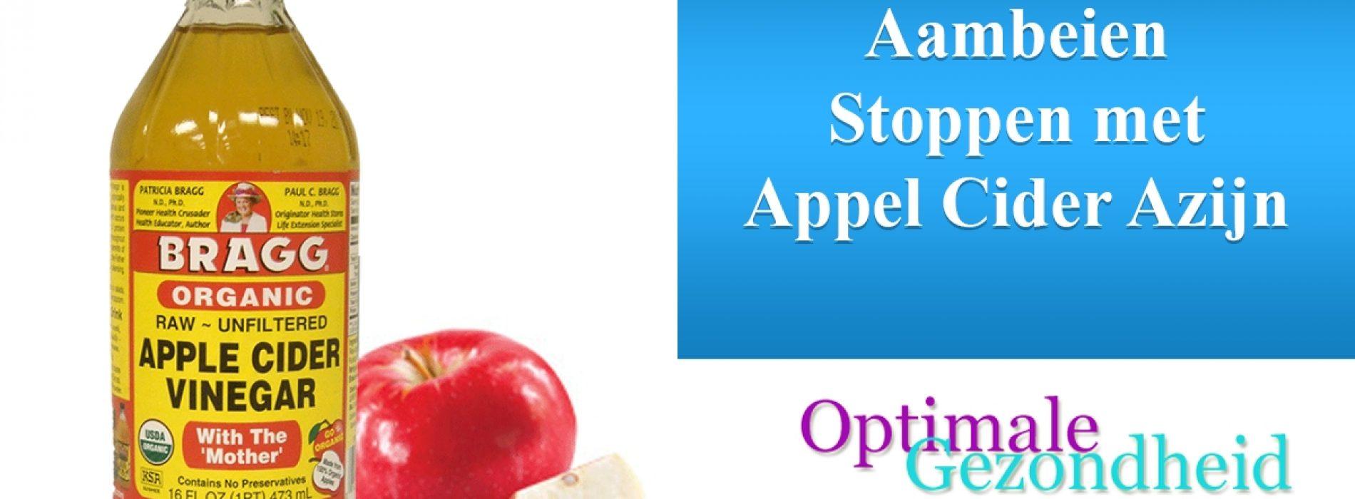 Natuurijke Aambeien Remedie: Appel Cider Azijn