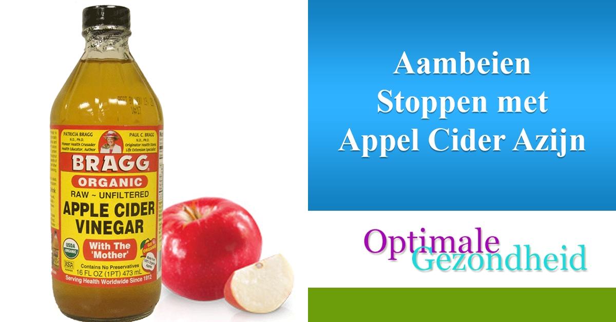 organische appel cider azijn