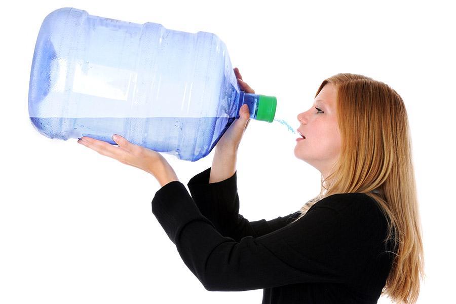 hoeveel water drinken afvallen