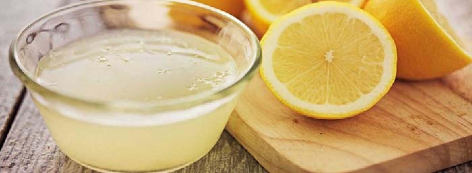 Neem citroensap in plaats van pillen als u één van deze 8 Problemen heeft.