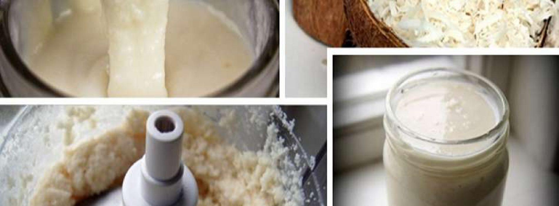 Kokosboter bevat meer Magnesium, ijzer en kalium dan kokosolie: Dit is hoe je het zelf maakt