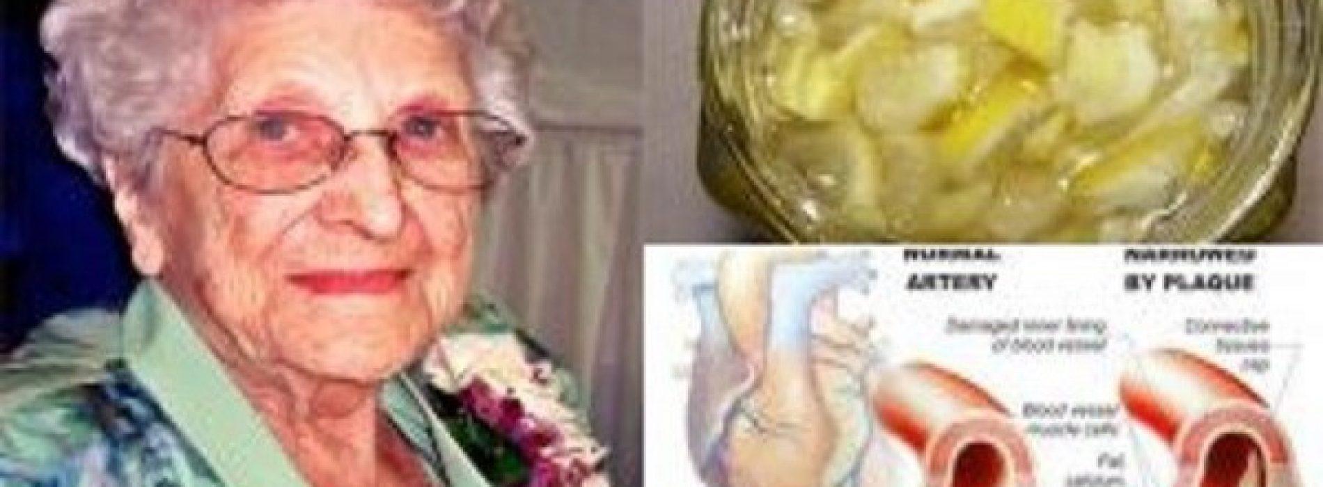 Mijn grootmoeder is 85 en ze had nooit een hoog cholesterol of hoge bloeddruk en heeft nooit pillen gebruikt – dit is de reden waarom …