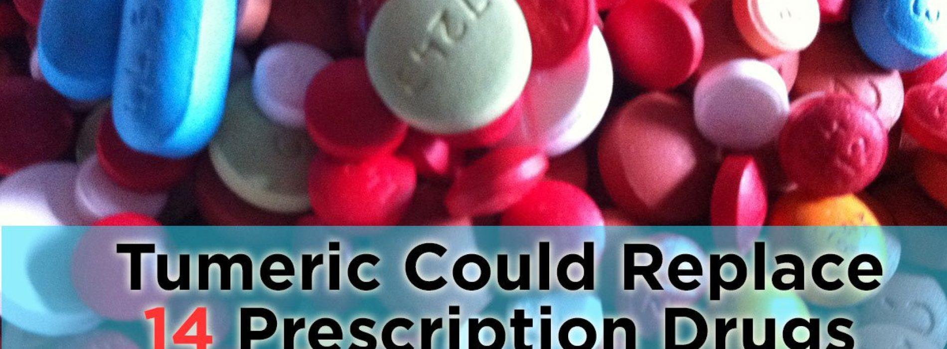 Wetenschap bevestigt kurkuma even effectief als 14 medicijnen