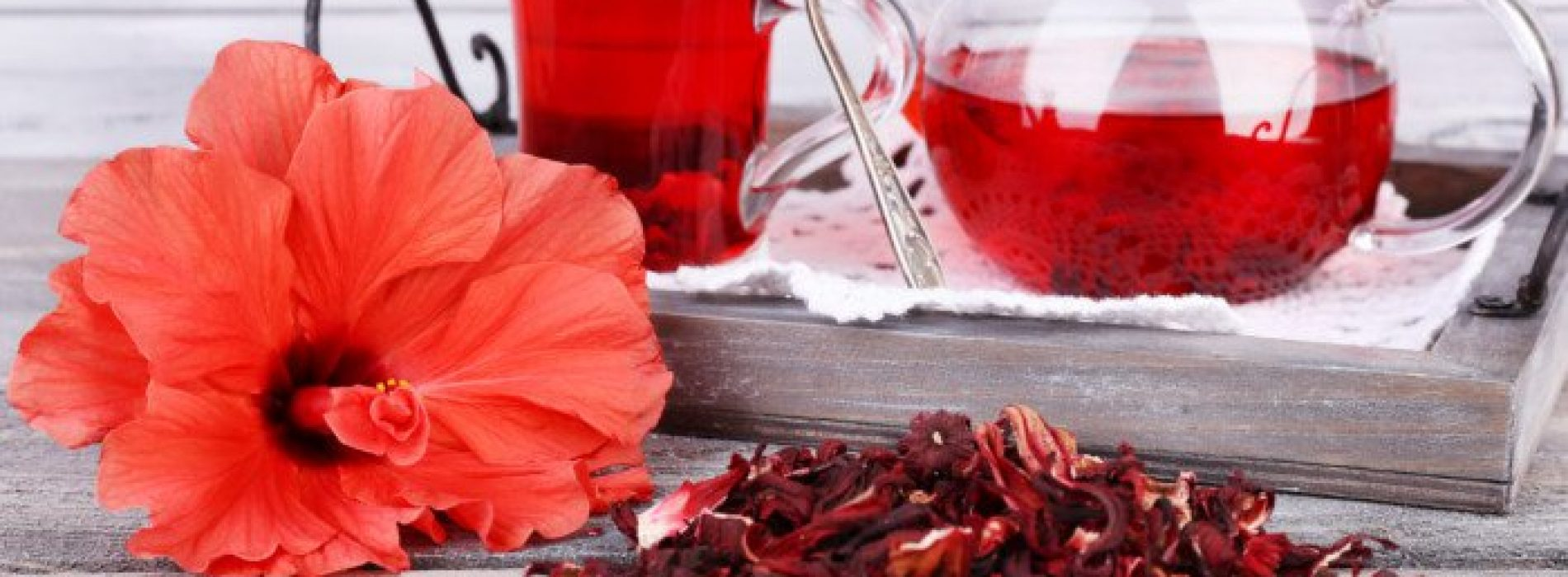 Hibiscus-thee verbetert de doorbloeding, vermindert het risico op hart- en vaatziekten