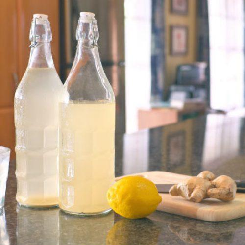 Hoe Natuurlijk Ginger Ale te maken