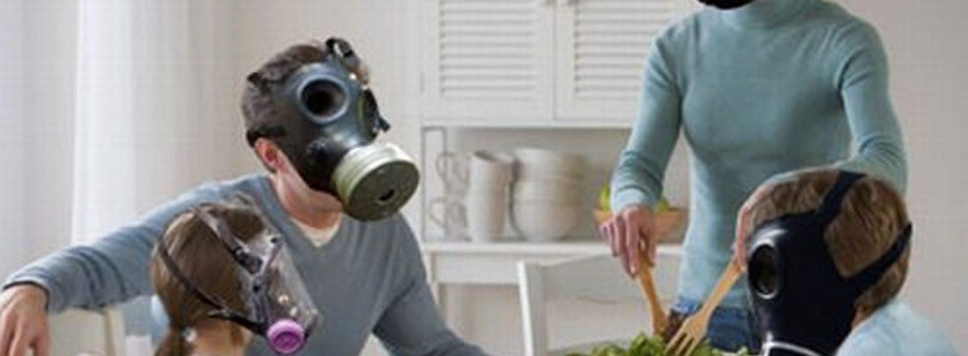 Verstorende gezondheidsrisico's van binnenluchtvervuiling blootgesteld