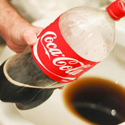 20 gebruikte toepassingen met Coca Cola.. Dit bewijst dat het niet thuis hoort in het menselijk lichaam