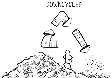 downcycle-van-water