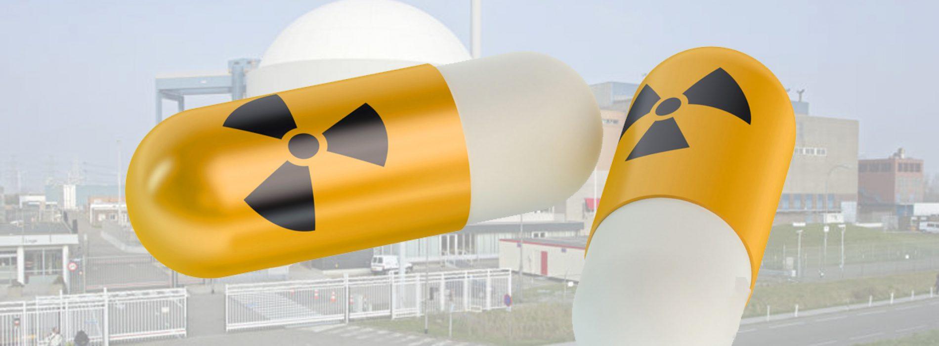 Jodiumpillen als hulp in nood bij kernongevallen