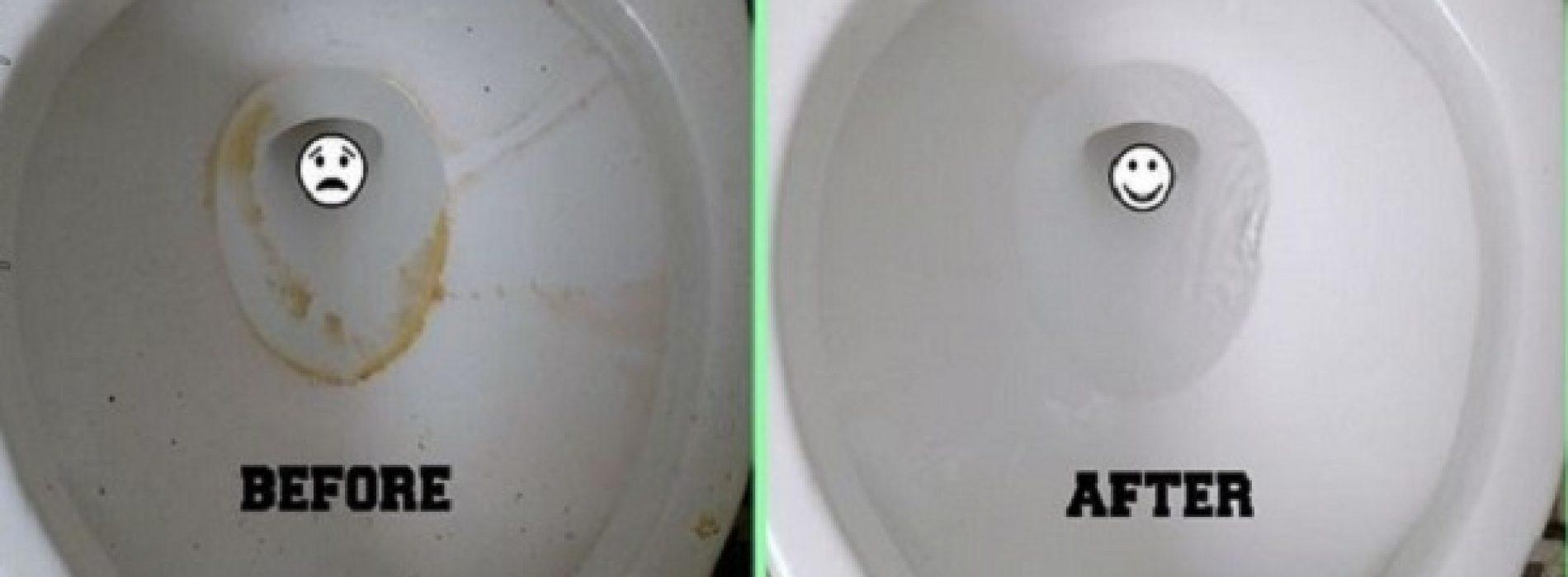 2-Ingrediënten Natuurlijk recept voor een glanzend toilet – Schrobben niet nodig!