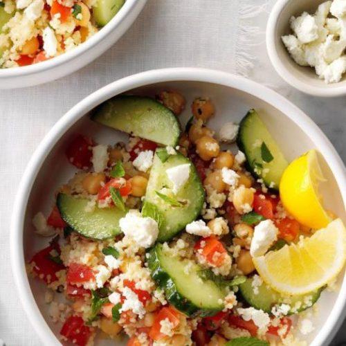 Deze Tabbouleh-salade is perfect voor hete zomernachten