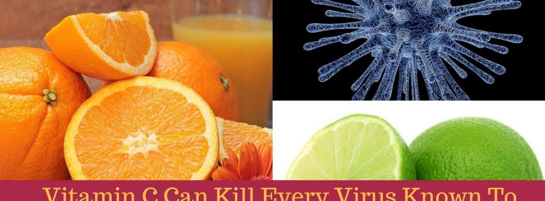 'Vitamine C' kan elk virus doden dat bij de mensheid bekend is